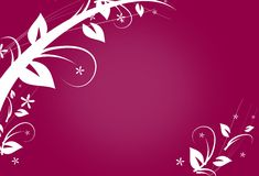 Abstract background with ornaments Stock Image