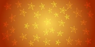Abstract background from outline stars on gradient. Vector for your design. Abstract background from outline stars on gradient. n Vector for your design stock illustration