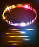 Abstract background with an oval area. EPS 10 Royalty Free Stock Images