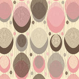 Abstract background of the ovals Royalty Free Stock Images