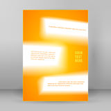 Abstract background page booklet format A4 blur01 Stock Images