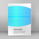 Abstract background page booklet format A4 02 Royalty Free Stock Image