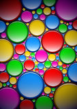 Abstract background with paint. Abstract background with colored spots Stock Photo