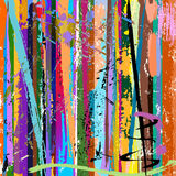 Abstract background, paint strokes. Abstract background, with paint strokes and splashes Stock Photo