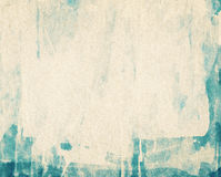 Abstract background painted on white watercolor paper Stock Image