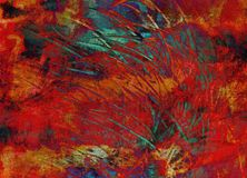 Abstract background painting Royalty Free Stock Photography