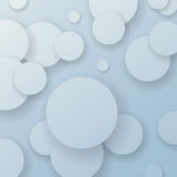 Abstract background with paper circle elements. Clip-art Royalty Free Stock Photography