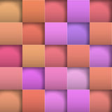 Abstract background paper squares. Vector Illustration Stock Photography