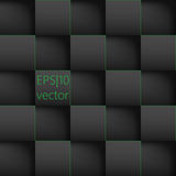 Abstract background paper squares. Vector Illustration Royalty Free Illustration