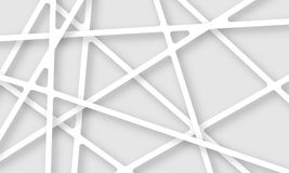 Abstract background with paper web web. Vector art illustration Stock Photos