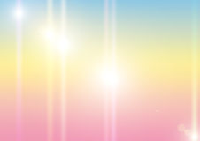 Abstract background in pastel tones. With shining beams royalty free illustration