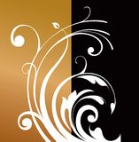 Abstract background with a pattern stock illustration