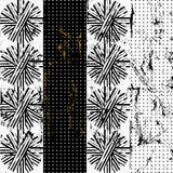 Abstract background pattern,. With circles/dots, strokes and splashes, grungy,black and white royalty free illustration