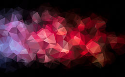 Abstract background pattern consisting of triangles. Raster copy. Stock Photos