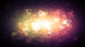 Abstract background pattern consisting of triangles. Raster copy. Stock Photography
