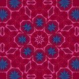 Abstract background pattern, kaleidoscope. Abstract background pattern made from petals rose flowers Stock Photos
