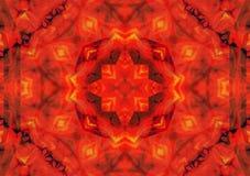 Abstract background pattern, kaleidoscope. Abstract background pattern made from petals rose flowers Stock Photo