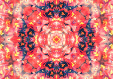 Abstract background pattern, kaleidoscope Stock Photography
