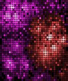 Abstract background pattern of mosaic tiles Royalty Free Stock Photos