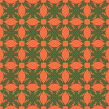 Abstract background with pattern. Abstract background salmon color with a green retro pattern Stock Images
