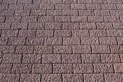 Abstract background. Paved sidewalk. Brick. Stock Image