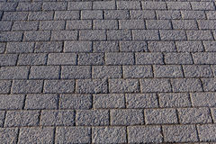 Abstract background. Paved sidewalk. Brick. Royalty Free Stock Photos