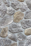 Abstract background paving consisting of big stones Stock Image