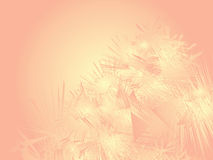 Abstract background. Peach abstract background with needles Stock Illustration