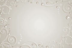 Abstract  background with pearls Royalty Free Stock Photos