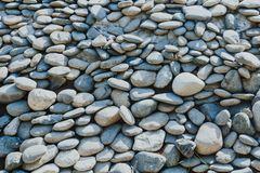 Abstract background with pebbles royalty free stock images