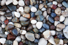 Abstract background with pebbles Stock Photo