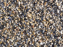 Abstract background with pebbles - round sea stones Stock Photo