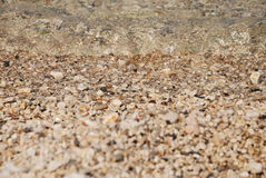 Abstract background of pebbles Stock Photos