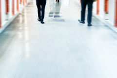 Abstract background people street walk in the city, pastel and blur Stock Photo