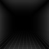 Abstract background with a perspective grid. Stock Photography