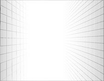 Abstract background with a perspective grid. Vector illustration stock illustration