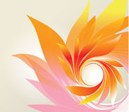 Abstract background with petal Stock Photography