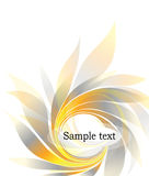 Abstract background with petal Royalty Free Stock Photography