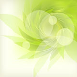 Abstract background with petal. Abstract background with green petal Royalty Free Stock Photos