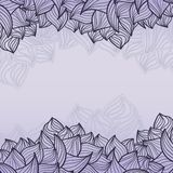 Abstract background of petal and wave Stock Photos