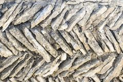 Diagonal Flat Stone Abstract Background stock image