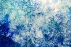 Abstract Background Photograph with Different Shades of Blue Royalty Free Stock Image