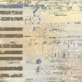 Abstract background piano keys Stock Photo