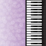 Abstract background with piano keys Royalty Free Stock Image
