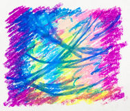 Abstract background - picture, pastel, hand-draw Stock Images
