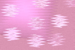 Abstract Background. Of pink bubbles pattern Stock Photo