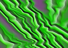 Abstract background in pink and green tones. In grunge style with waves Stock Photos