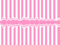 Abstract background with pink lines Royalty Free Stock Photography