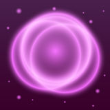 Abstract background with pink plasma circle effect Royalty Free Stock Images