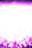Abstract background of pink. Purple circles abstract Christmas lights background Stock Photo